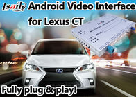 China Terno video da relação de Android 6,0 Lexus para 2012 ou jogo mais atrasado do vídeo do apoio 4k do CT fábrica