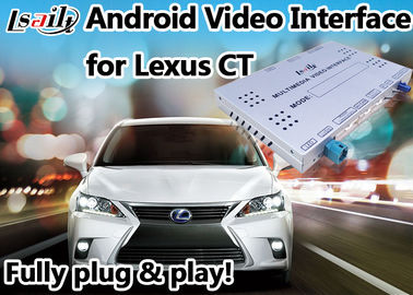 China Terno video da relação de Android 6,0 Lexus para 2012 ou jogo mais atrasado do vídeo do apoio 4k do CT distribuidor